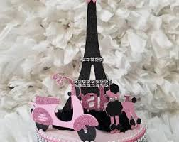 Paris Centerpieces Paris Eiffel Tower Centerpiece Party Themeparis Baby Shower