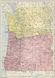 Washington County Map by Map Of Oregon And Washington Geology