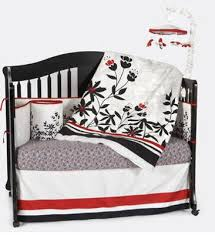 Black And White Crib Bedding Set Black White And Organic Baby Crib Bedding And Nursery