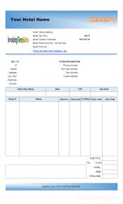 invoice template word 2007 free download printable hotel used car