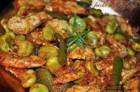 cuisine pakistanaise recette poulet jalfrezi ou poulet aux poivrons et fèves a l indienne