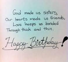 Happy Birthday Wisdom Wishes Birthday Quotes For Elder Sister From Younger Sister Quotes