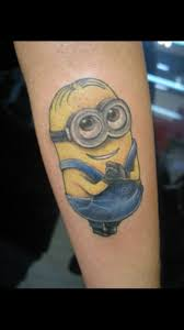 tato kartun minion 14 best minion tattoos images on pinterest minion tattoo tattoo