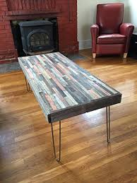 Barn Wood Coffee Table Barn Wood Coffee Table 40 X20 Industrial Furniture