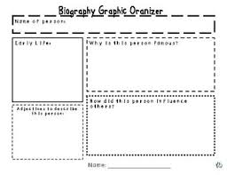free biography graphic organizer 4th grade 29 images of template biography organizer helmettown com