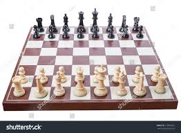 how to set up chess table chess board set begin game isolated stock photo royalty free