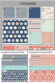 Create Your Own Comforter Trendsetter Fabric In Navy Mint And Coral Custom Create Your Own