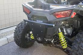 inc polaris rzr s 900 shorty rear bumper