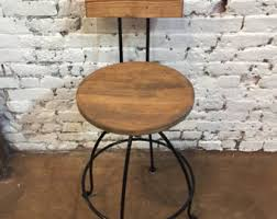 Counter Height Bar Stools With Backs Commercial Bar Stool Etsy