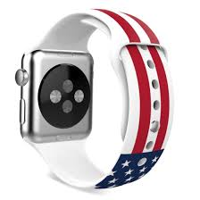 Red Flag Band American Flag New Wristband Band Strap Accessories For Iwatch 42mm