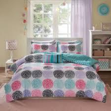 Polka Dot Bed Set Mizone Audrina Polka Dot Comforter Set