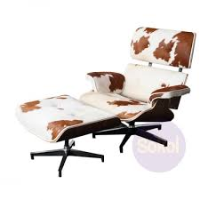 Cowhide Chair Australia Replica Eames Lounge U0026 Ottoman Cow Hide Lounge U0026 Side Chairs