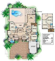 Single Story Open Concept Floor Plans Huge Luxury House Plans
