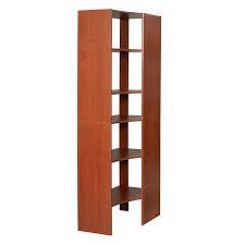 Wood Corner Shelf Design by Corner Closet Shelves Design Home Decorations