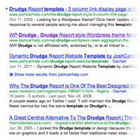 drudge report template curation and aggregation theme wp drudge