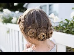 updos cute girls hairstyles youtube flower crown braid updo cute girls hairstyles youtube new