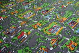 Large Kids Rug Road Rug For Kids Rug Designs