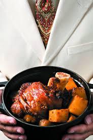 cuisiner un jarret de veau recette jarret de veau confit à l ananas