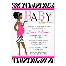 zebra baby shower personalized zebra baby girl shower invitations
