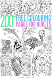 25 colouring sheets adults ideas free