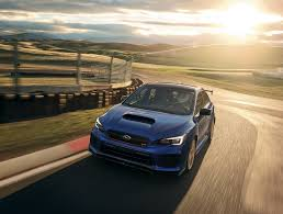 subaru bbs subaru wrx sti type ra and brz ts are 2018 u0027s blue hellions
