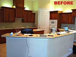 Remove Kitchen Cabinet Kitchen And Bathroom Remodeling Before And After Pictures