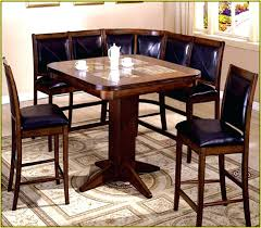 Bench Style Dining Tables Booth Style Dining Table Large Size Of Seating For Homes Corner