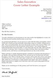 cover letter example sales salesperson marketing cover letters