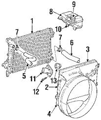 radiator for 2002 dodge ram 1500 2004 dodge ram 1500 parts mopar parts oem dodge chrysler