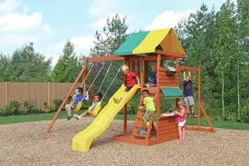 Swing Set For Backyard by Big Backyard Hazelwood Swing Set Toys