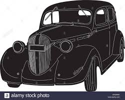 old cars drawings old car silhouette stock vector art u0026 illustration vector image