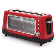 Bella Linea 4 Slice Toaster Red Orange Toasters Toasters U0026 Countertop Ovens The Home Depot