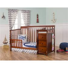 Dream On Me Mini Crib Bedding by Dream On Me 4 In 1 Brody Convertible Crib With Changer Espresso