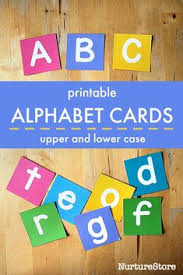 printable alphabet letter cards 2 sets of free pdf with 26 printable alphabet cards in upper case