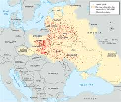 Map Of Europe Pre Ww2 by The Jewish Ghettos Separated From The World Facing History And