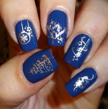 dark blue color nail art best nail 2017 25 dark blue nail art
