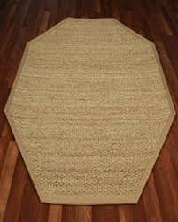 Octagon Rug 6 Half Panama Octagon Seagrass Rug Natural Home Rugs Natural