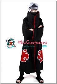 Naruto Costumes Halloween Naruto Akatsuki Kakuzu Cosplay Costume Sale
