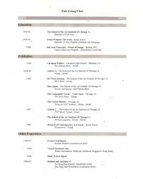 Example Artist Resume Art Student Resume Free Resume Example And Writing Download