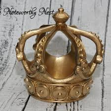 crown decor crown decor gold crown resin crown from the noteworthy nest