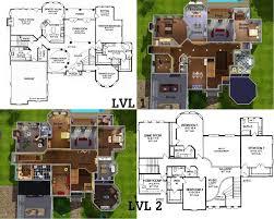 good sims house blueprints home design best plans for families