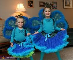 Peacock Halloween Costumes Girls Peacock Sisters Costume Halloween Costume Contest Costume