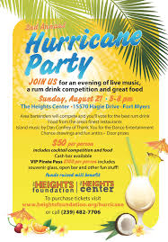 purchase tickets hurricane party u0026 rum drink competition the