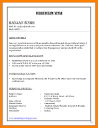 Resume Examples In Word Format by 5 Freshers Resume Samples In Word Format Fancy Resume