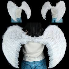 Ebay Halloween Props Halloween Extra Large White Feather Angel Wing Photo Props