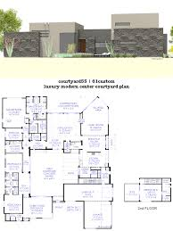2 story house plans with interior courtyard homes zone exceptional