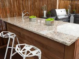 Types Of Kitchen Countertops by Fabulous Types Of Granite Countertops And In Vogue Triple Glass