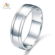 wedding band hong kong peacock men s solid sterling solid 925 silver wedding band
