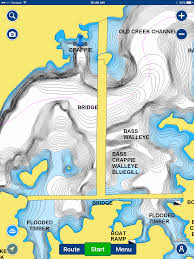 Lake Mead Map Finding Pre Spawn Largemouth Dissecting A Lake Map General Bass