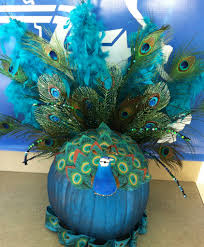 peacock pumpkin we need this one pumpkins pinterest